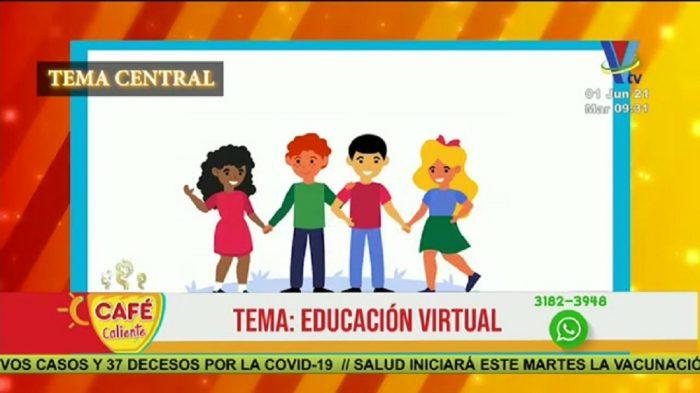 Tema central: Educación virtual