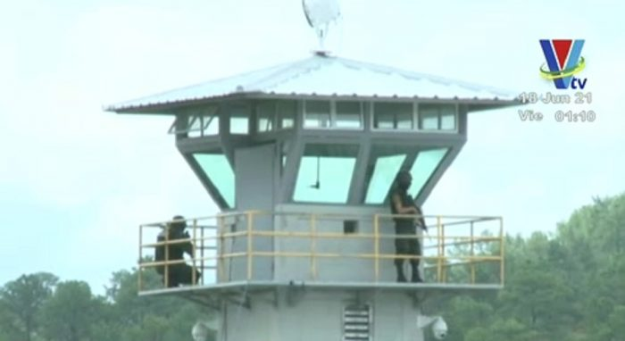 PMOP brinda seguridad en los alrededores de La Tolva y el Hospital Escuela