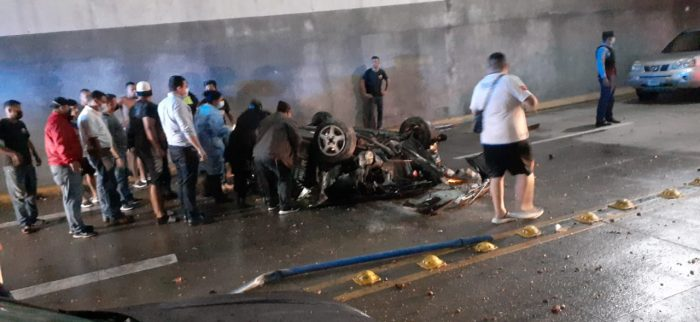 Accidente en Bulevar Juan Pablo