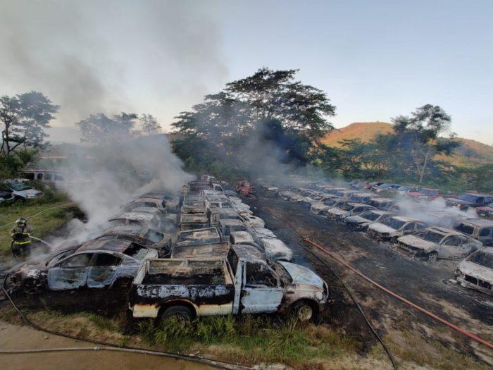 Incendio en San Pedro Sula