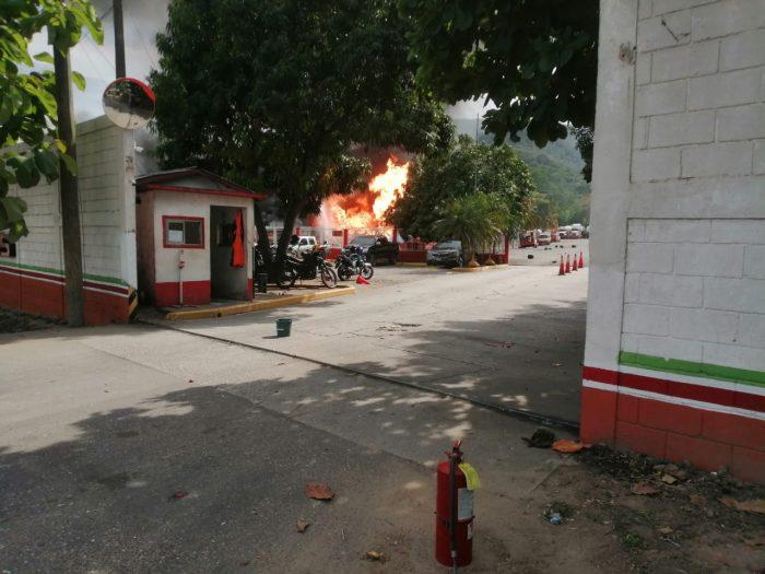 Incendio en SPS