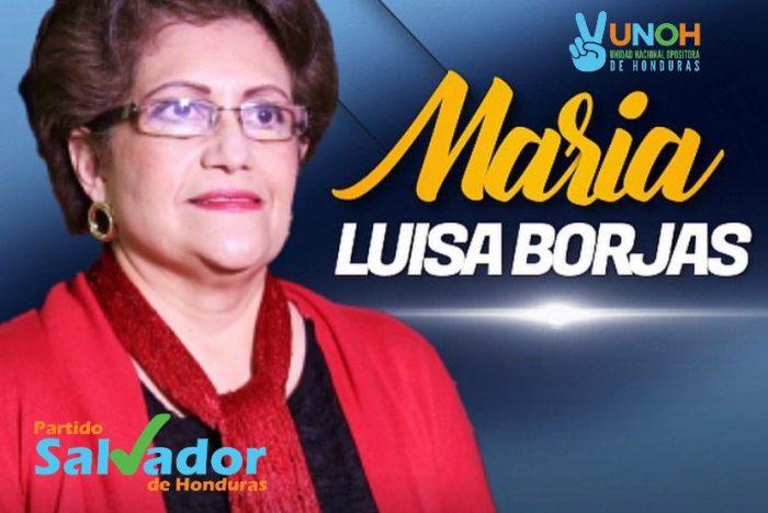 María Luisa Borjas y Nelson Ávila