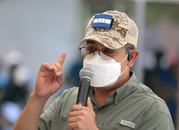 Pdte. Juan Orlando Hernández