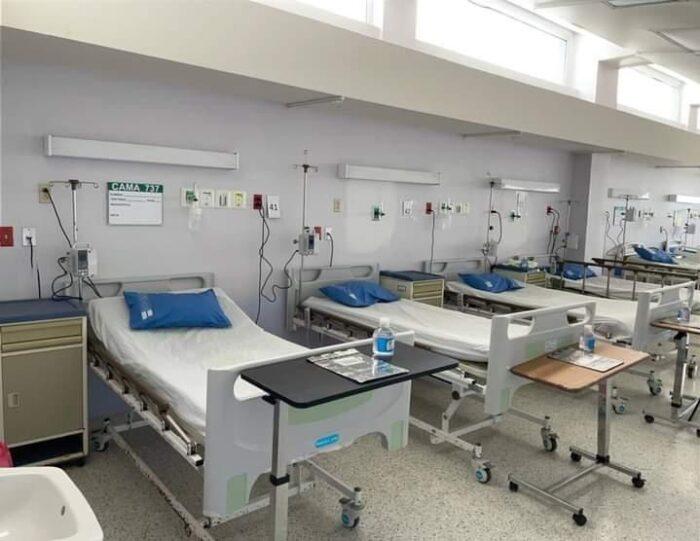 Habitan más camas en Sala de atención de pacientes de COVID-19