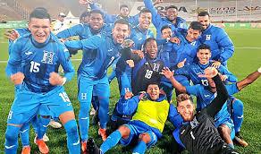 La selección Sub-23 de Honduras se prepara para los Juegos Olímpicos.