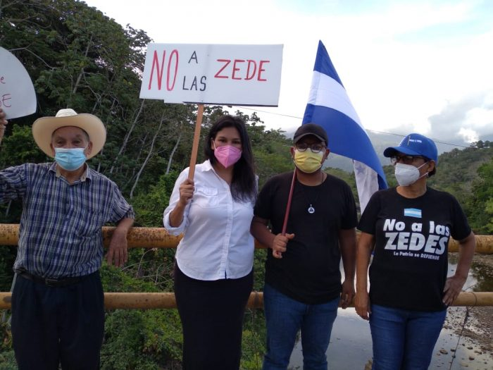 Protestan por Zedes en Ceiba