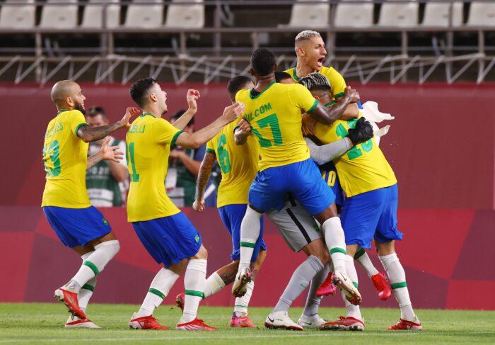 Brasil oro olímpico
