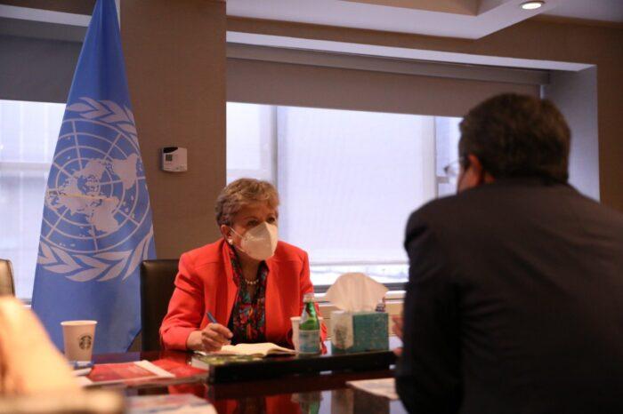 Alicia Bárcena secretaria de la Cepal