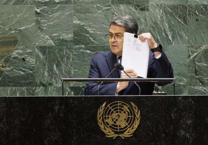 Juan Orlando Hernández discurso ONU
