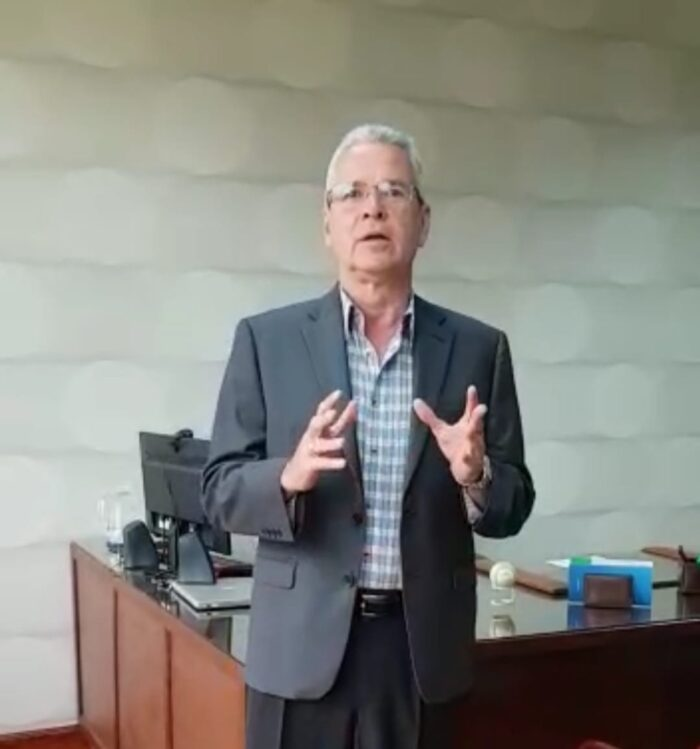 Nuestro gerente Carlos Alberto Pastora Rossler envía conmovedor mensaje por deceso del lic. Janania