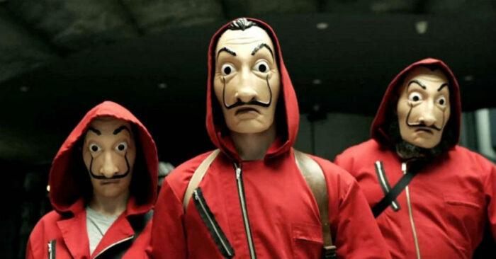 Empresa le da el día libre a sus trabajadores para que vean el estreno de La Casa de Papel