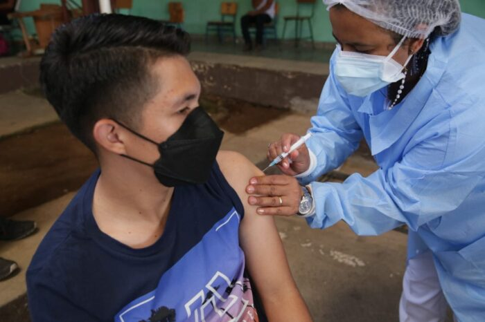 Vacunaton menores de edad