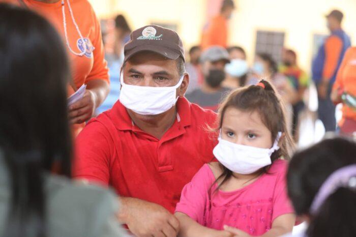 El vacunaton se ha realizado ya en nueve departamentos de Honduras