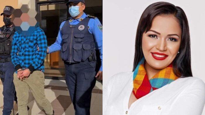 Arrestan a pareja de la diputada hondureña Olivia Zúniga