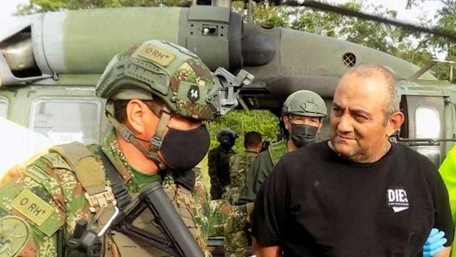 Caída de «Otoniel», el mayor golpe al narcotráfico desde Escobar, dice Duque