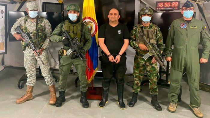 Capturan a 28 miembros del Clan del Golfo en Colombia días después de la detención de Otoniel