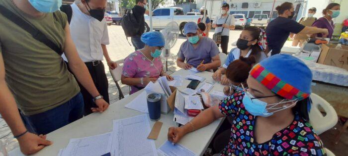 Honduras vacunará contra la Covid-19 a ciudadanos de Nicaragua en puntos fronterizos