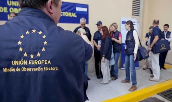 Llegaron a Honduras los primeros 30 observadores de la Unión Europea