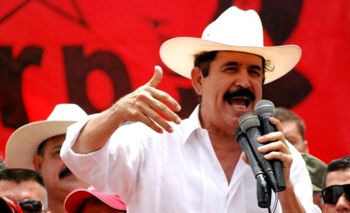 Mel Zelaya: No recibimos nunca ni un solo centavo del comandante Hugo Chávez