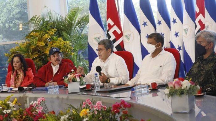 Nicaragua y Honduras firman histórico tratado de de límites fronterizos