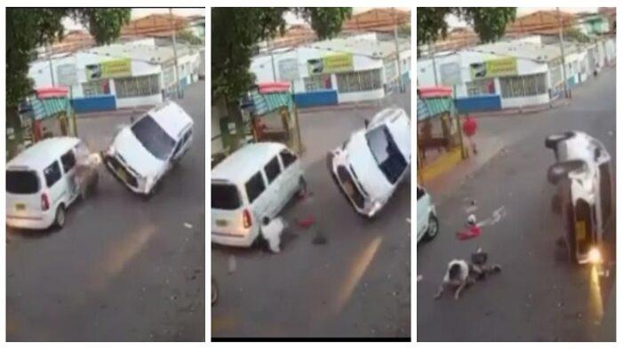 Sacerdote borracho atropelló a una mujer, su